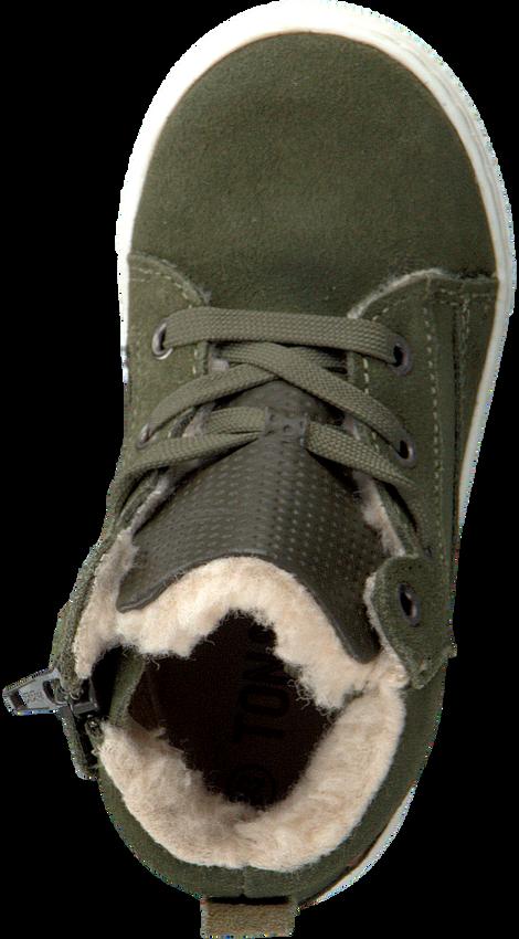 Groene TON & TON Hoge sneaker PL20W017  - larger