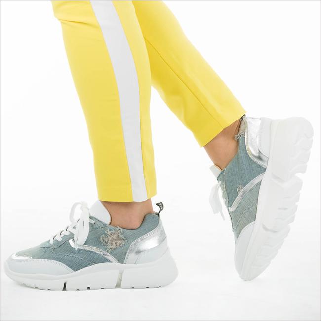 Blauwe DEABUSED Sneakers 7530  - large