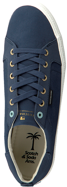 Blauwe SCOTCH & SODA Sneakers ABRA  - large
