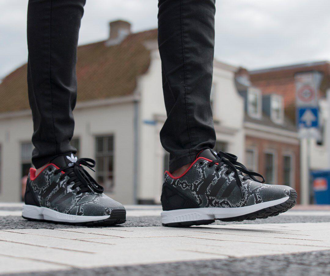 adidas zx flux zwart koper dames