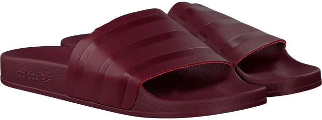 Rode ADIDAS Slippers ADILETTE DAMES  - large