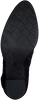 Zwarte MJUS Enkellaarsjes LAVANDA  - small