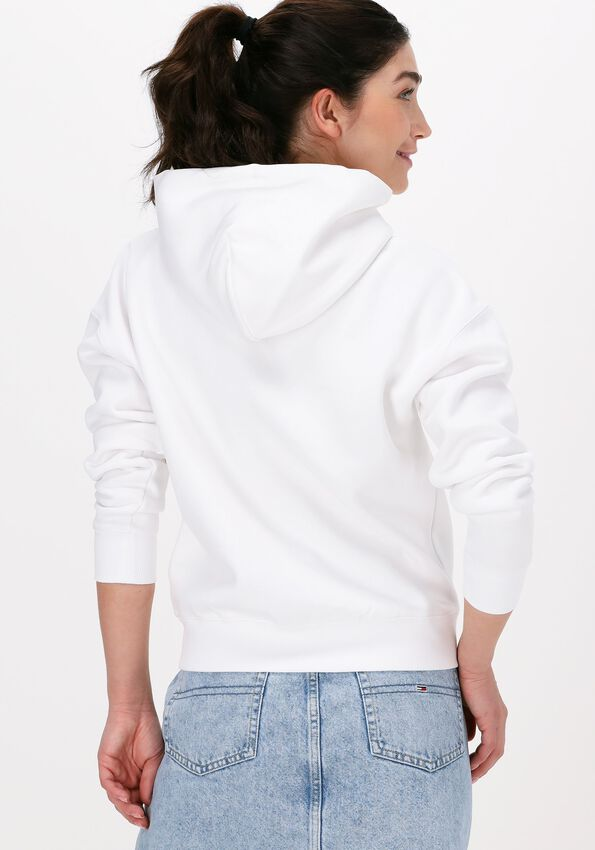 Witte TOMMY JEANS Sweater TJW BXY TIMELESS TOMMY 2 HOODI - larger