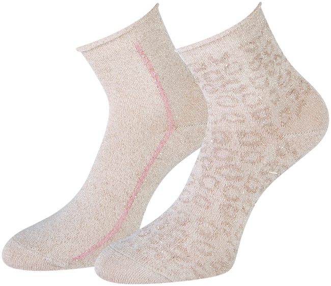 Beige MARCMARCS Sokken AMY COTTON 2-PACK  - large