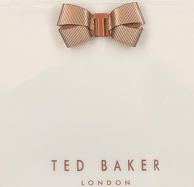 Witte TED BAKER Handtas VALLCON - large