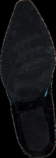 Zwarte SCOTCH & SODA Enkellaarsjes CORALL S725 - large
