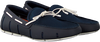 Blauwe SWIMS Loafers BRAIDED LACE LOAFER  - small