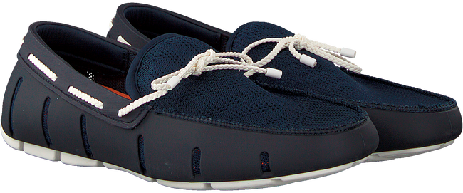 Blauwe SWIMS Loafers BRAIDED LACE LOAFER  - large