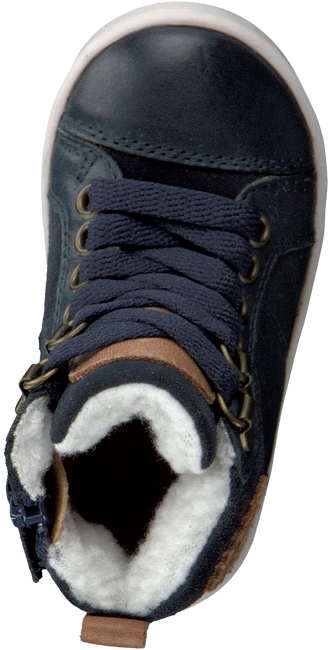 Blauwe OMODA Hoge sneaker OM120717  - large