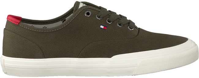 Groene TOMMY HILFIGER Lage sneakers CORE OXFORD TWILL - large