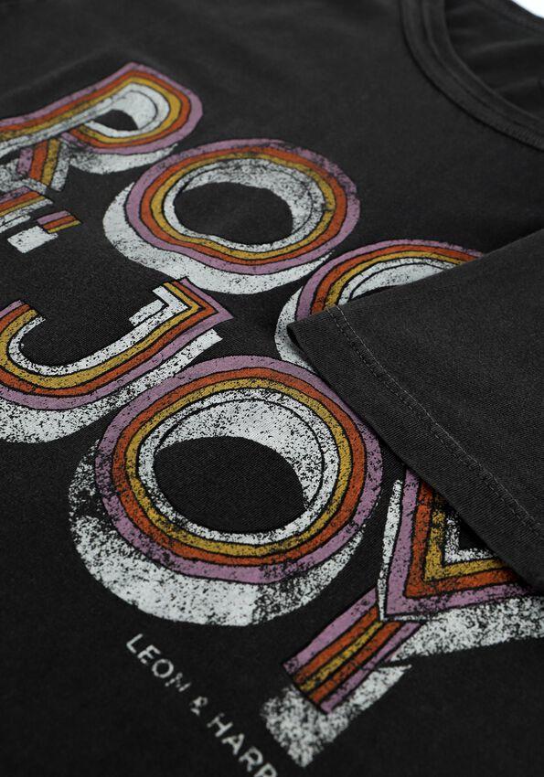 Antraciet LEON & HARRPER T-shirt TORO JC05 JOY  - larger