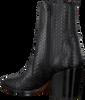 Zwarte TORAL Enkellaarsjes 12226  - small