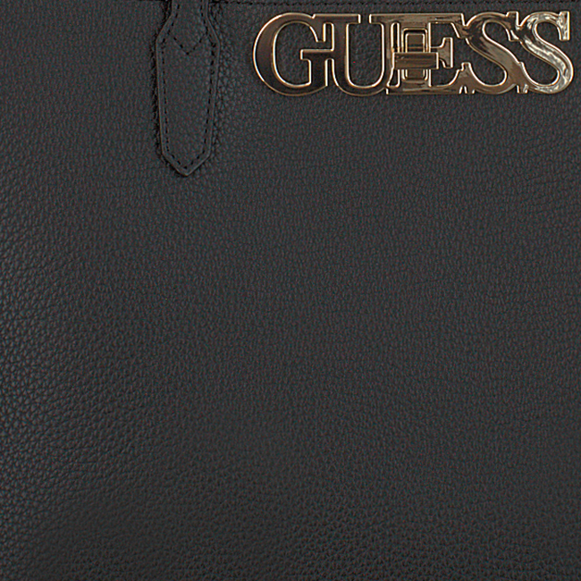 Zwarte GUESS Shopper UPTOWN CHIC BARCELONA TOTE  - large