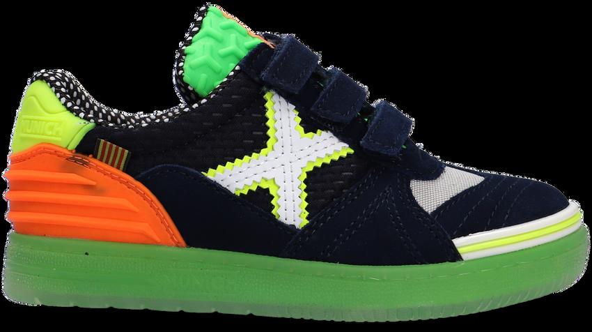 Blauwe MUNICH Lage sneakers G3 VELCRO  - larger