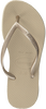 beige HAVAIANAS Slippers KIDS SLIM  - small