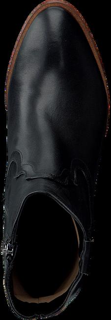 Zwarte NOTRE-V Enkellaarsjes 5011\07  - large