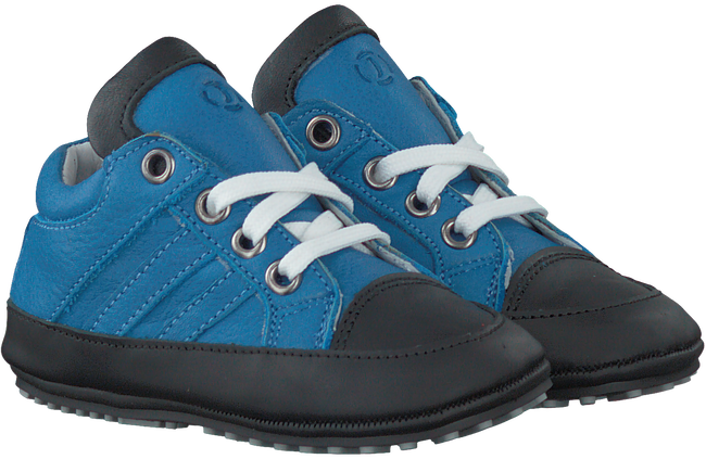 Blauwe JOCHIE Babyschoenen 16028  - large