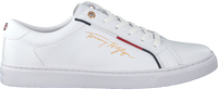 Witte TOMMY HILFIGER Lage sneakers SIGNATURE  - medium