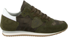Groene PHILIPPE MODEL Sneakers TROPEZ CAMOUFLAGE  - small