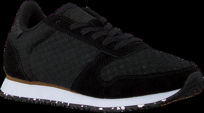 Zwarte WODEN Lage sneakers YDUN SUEDE MESH II  - large