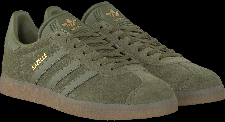 adidas gazelle groen zwart