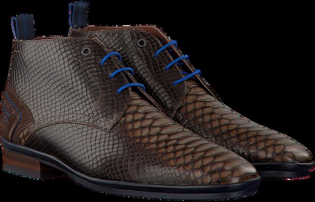 Bruine FLORIS VAN BOMMEL Nette schoenen 10960  - large