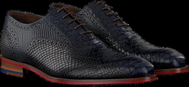 Blauwe FLORIS VAN BOMMEL Nette schoenen 19104 - large