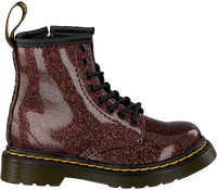 Rode DR MARTENS Veterboots 1460 GLITTER  - medium