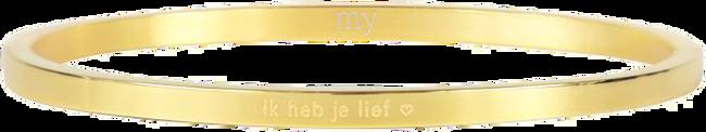Gouden MY JEWELLERY Armband IK HEB JE LIEF - large