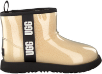 Beige UGG Vachtlaarzen CLASSIC CLEAR MINI II - medium