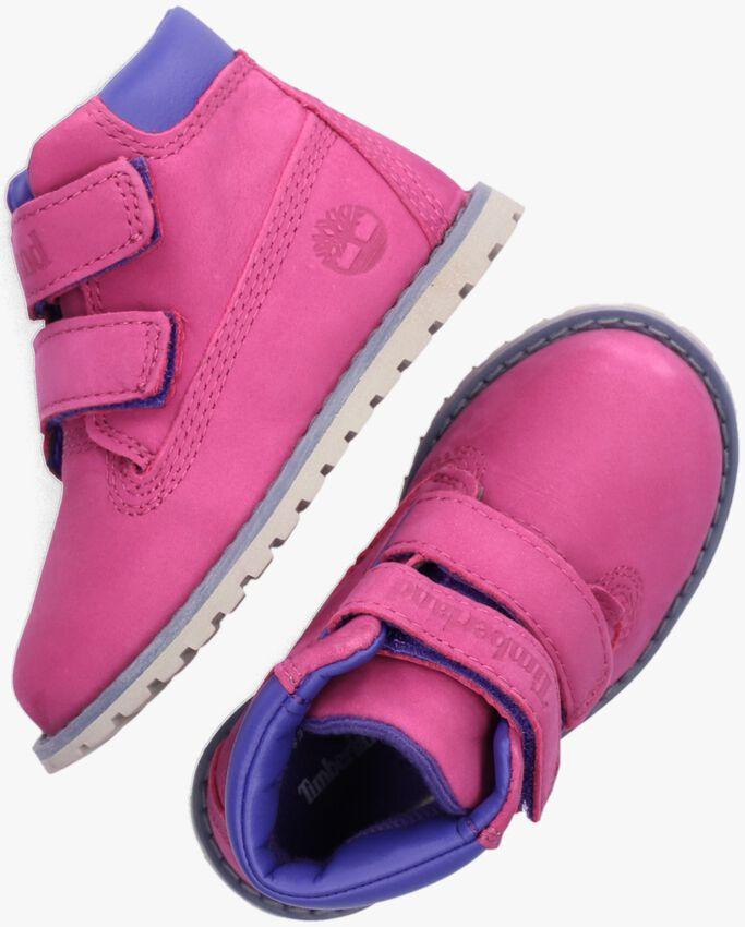 Roze TIMBERLAND Hoge sneaker POCKEY PINE H&L FESTIVAL  - larger