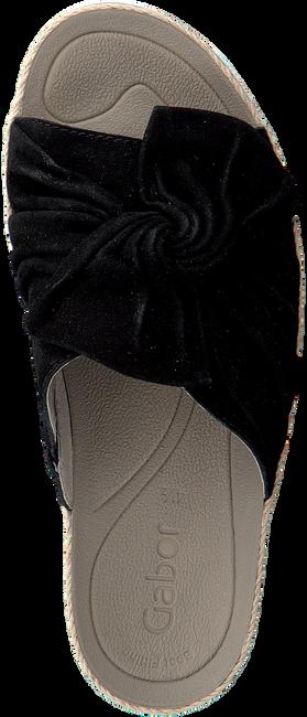 Zwarte GABOR Slippers 729 - large