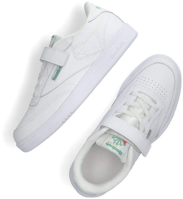Witte REEBOK Lage sneakers CLUB C 1V  - large