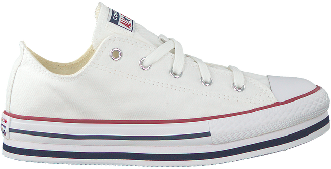 Witte CONVERSE Lage sneakers CHUCK TAYLOR ALL STAR PLATFORM LAYER LO