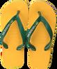 Gele HAVAIANAS Slippers BRASIL LOGO KIDS  - small