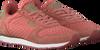 Roze WODEN Lage sneakers YDUN SUEDE MESH  - small