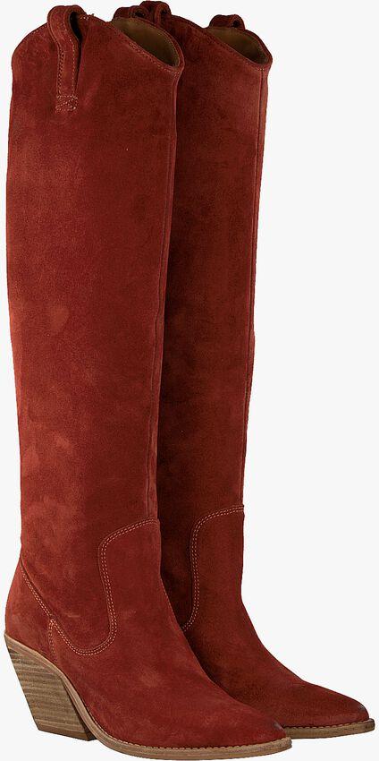 Rode BRONX Lange laarzen LOW-KOLE 14188  - larger