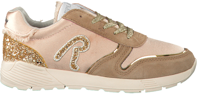 Beige REPLAY Sneakers HENDRIX  - large