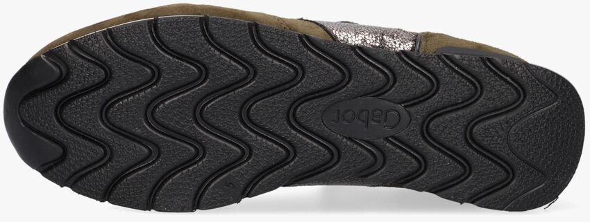 Groene GABOR Lage sneakers 364  - larger