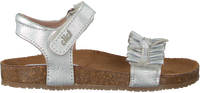 Zilveren CLIC! Sandalen 8969 - medium