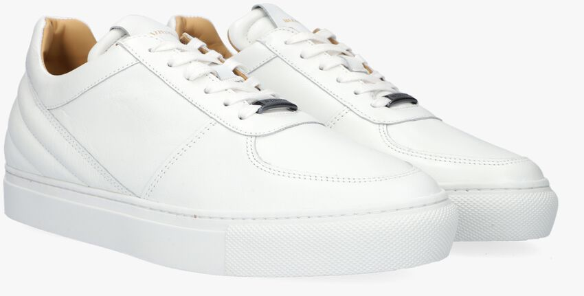 Witte MAZZELTOV Lage sneakers 9338B  - larger