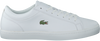Witte LACOSTE Sneakers STRAIGHTSET BL1  - small
