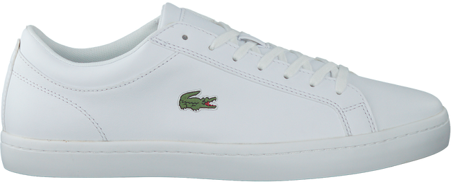 Witte LACOSTE Sneakers STRAIGHTSET BL1  - large