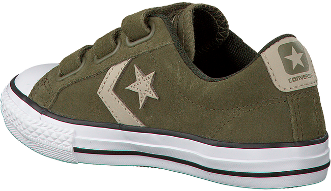 Groene CONVERSE Sneakers STAR PLAYER 3V OX KIDS  - large