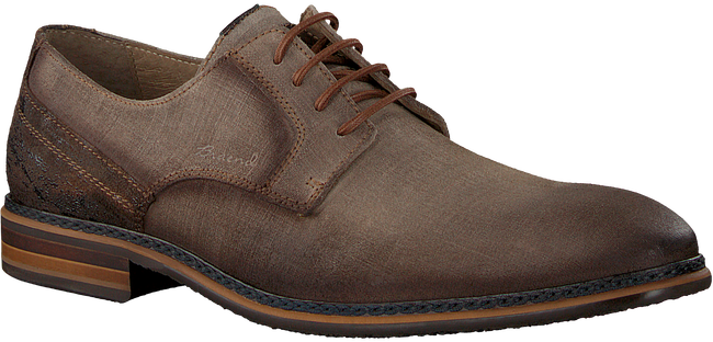 Bruine BRAEND Nette schoenen 15696 - large