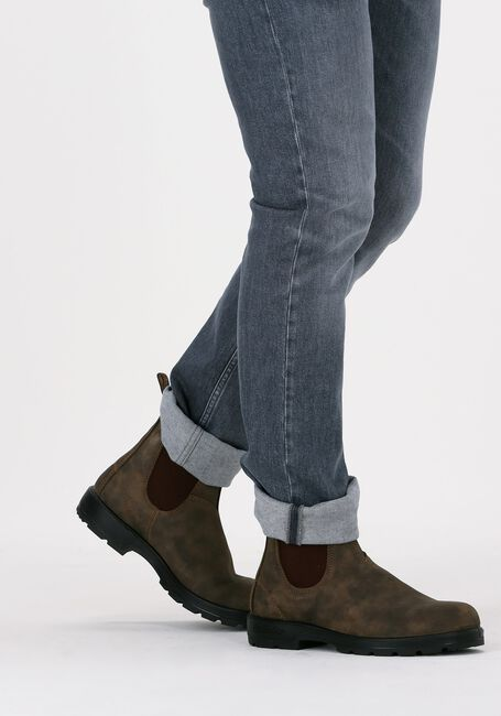 Bruine BLUNDSTONE Chelsea boots CLASSIC HEREN  - large