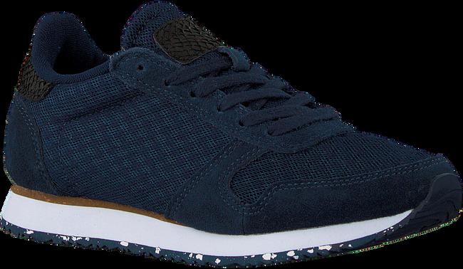 Blauwe WODEN Lage sneakers YDUN SUEDE MESH II  - large