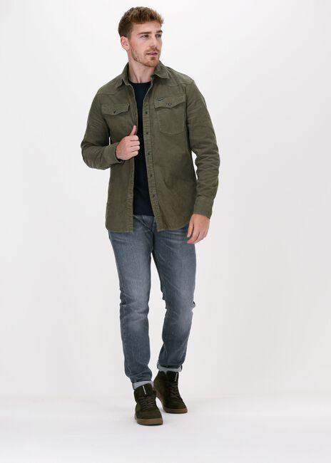 Olijf G-STAR RAW Casual overhemd C436 - ESPER CORDUROY RFD- 330 - large