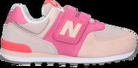 Roze NEW BALANCE Lage sneakers PV574  - medium