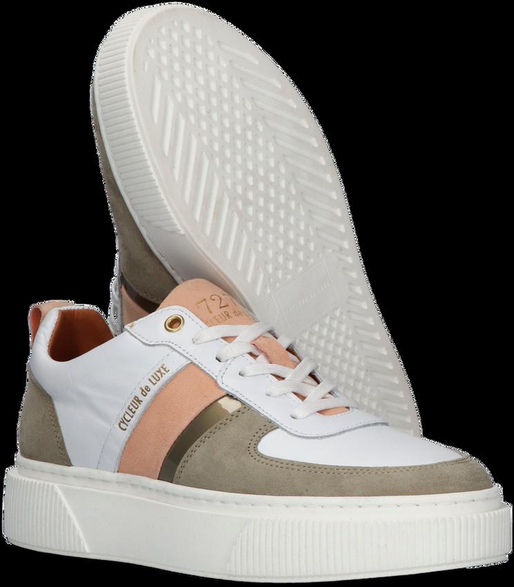 Witte CYCLEUR DE LUXE Lage sneakers LAUREN  - larger